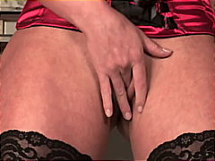 Redtube Movie:Sexy lingerie babe getting hot