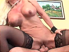 Redtube - Blond babe gets creamed
