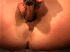 Thumb: Pussy pounded with gol...
