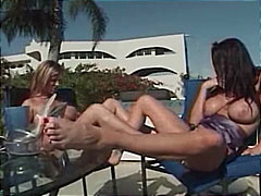 Redtube Movie:Two hot women having fun in th...