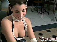 Babe makes a good cleanup - Redtube