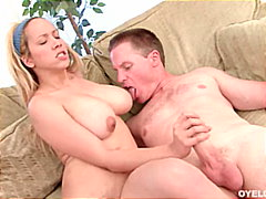 masturbation, blonde, titfuck,
