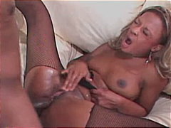 cum shot, blowjob, pantyhose, couple