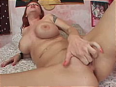 Thumb: Hot pussy fucked in he...
