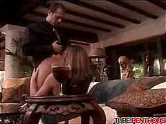 redhead, blowjob, couple, shaved,
