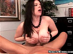 Daphne Rosen milks dic... from Redtube