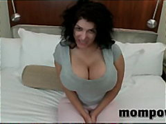 Mammoth tits milf fucking and sucking...