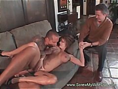 group, wild, busty, wife, couple