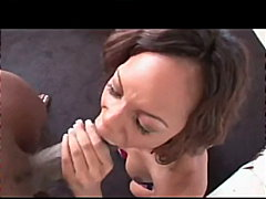 ebony, homemade, brunette, hardcore, cumshot, facial, pov,