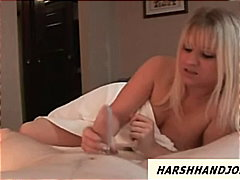 handjob, slapping, kinky, british