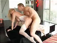 julia ann,  creampie, rough