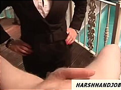 job, voyeur, uk, handjob, view