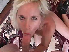 Older MILF Gets A Creamy Creampie