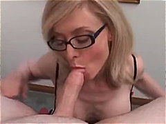 nina hartley,  facial, nina, cumshot