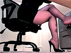 skirt, fetish, feet, tease, nylons,