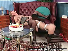 Lesbian couple Double surprise