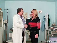 hairy, milf, old, doctor, medical