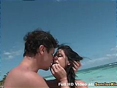 Nudist Couples Making Blowjob and Oral Sex on Beach