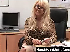cfnm, handjob, pov, bdsm, fetish, mom, blonde, kinky, british, european, milf, femdom, glasses