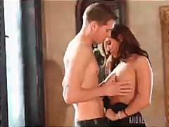 Intimate Things Gracie Glam brunette striptease hardcore coupl