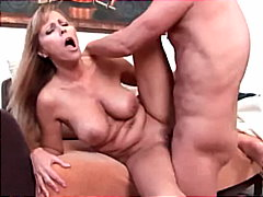 dildo, boobs, blonde, milf, blowjob,