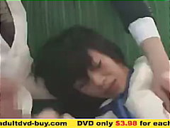 Japanese girl group sex on the bus