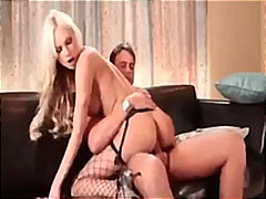 amy reid,  blowjob, fishnets, blonde,