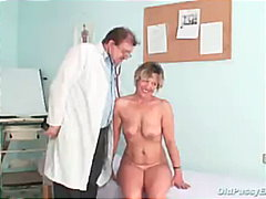 kinky, speculum, doctor, milf, fetish, old, mom, gyno, mature