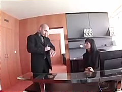 Sexy secretary in stoc... video