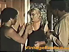 Blonde takes two Black... video