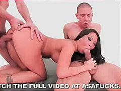 Keez Movies Movie:Asa Akira Double Penetration a...