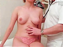 Old kinky doctor is pussy gaping and ...