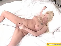 masturbation, big-boobs, blonde,