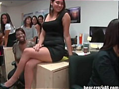 Sizzling CFNM Blowjobs in Office