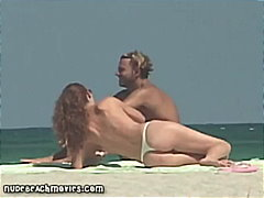 Topless & Nude Beach Footage - 05:39
