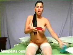 Keez Movies - Huge dildo disappears ...