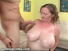 oil, mom, bbw, blowjob,