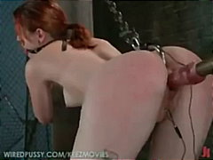 tied, redheads, machine, domination, slave