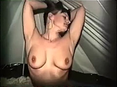 naked in a tent