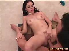 pussy-licking, fetish, threesome,