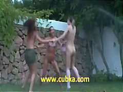 lesbian, tits, teenager, anal, public, dick, ass, girl-on-girl, asshole, striptease, outdoor, blonde, pussy, licking, sucking
