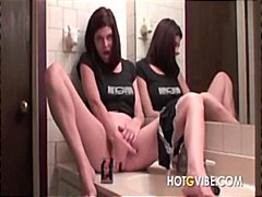 See: Fingering Bathroom Squ...