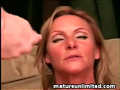 cumshot, mom, blonde, fetish,