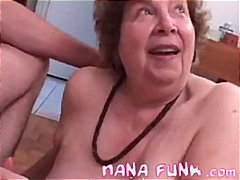 Lusty Grandma Sucks Cock - 05:07