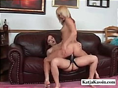 Thumb: Katja Plays With Her G...