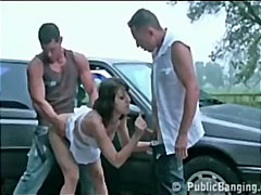 outdoor, groupsex, public, blowjob,
