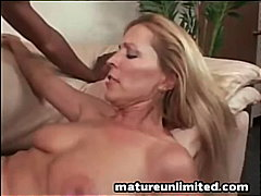 interracial, blonde, mom, milf,
