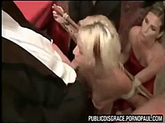 orgy, blonde, rough-sex, bondage,