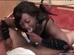 Ebony gives head video