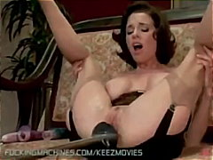 Keez Movies Movie:Brunette Squirts After Being F...